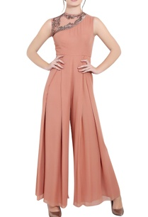 blush-pink-georgette-sequin-ari-technique-box-pleat-jumpsuit