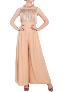 blush-peach-georgette-pipe-work-ari-technique-long-jumpsuit-with-tassels-work