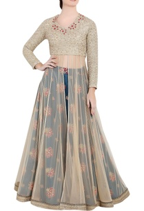 golden-blue-soft-net-thread-work-zardozi-work-anarkali-with-separate-skirt