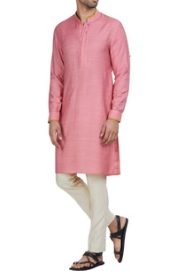 cotton-silk-full-sleeves-kurta-pants