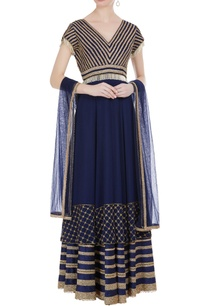 georgette-net-embroidered-anarkali-with-saali-beadwork
