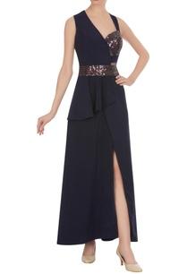 half-bustier-half-peplum-style-gown