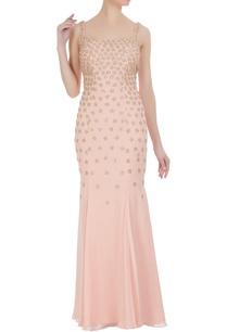 kachra-work-georgette-mermaid-gown