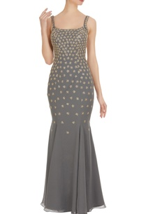 star-motif-embroidered-mermaid-dress