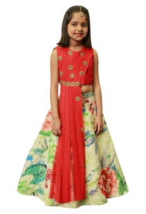 floral-lehenga-with-draped-embroidered-blouse