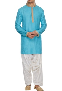 blue-handcrafted-kurta-with-white-patiala-pants