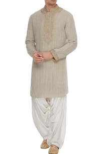 beige-embroidered-kurta-with-off-white-patiala