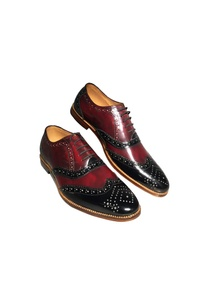 black-cherry-leather-handcrafted-brogues