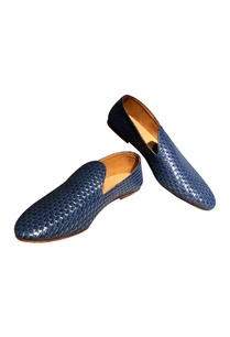 blue-non-leather-woven-handcrafted-loafer