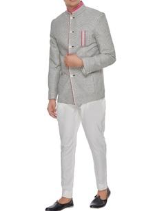 grey-pink-khadi-cotton-chequered-bandhgala