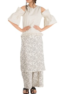 ivory-khadi-star-motif-embroidered-overlay-blouse