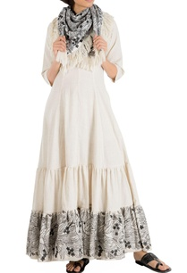 ivory-khadi-maxi-dress-with-embroidered-hemline