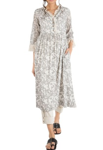 ivory-cotton-gathered-tunic-with-embroidery