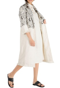 ivory-tropical-embroidered-trench-jacket-with-frayed-edges