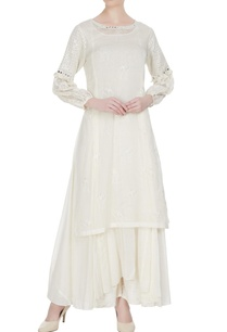 off-white-mirror-work-embroidered-kurta-set