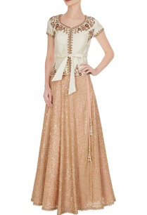 ivory-tussar-silk-blouse-with-sequin-embroidered-georgette-skirt