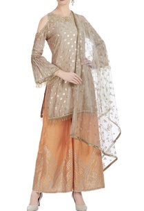 cold-shoulder-embroidered-kurta-with-palazzo-and-net-dupatta