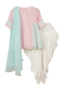 pink-blue-anarkali-kurta-with-elastic-band-patiala-dupatta