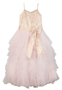 rose-pink-brocade-net-frilly-gown