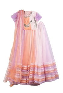 multicolored-net-butter-crepe-lehenga-set