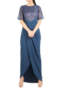 crepe-gown-with-organza-embroidered-yoke