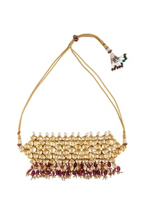 beaded-pearl-choker-necklace
