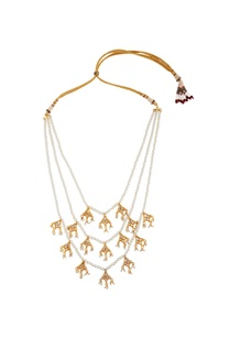 tiered-style-tie-up-ethnic-necklace