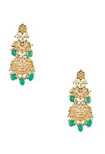 pearl-kundan-dangling-earrings