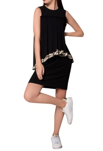 black-jersey-sleeveless-dress-with-asymmetric-layer