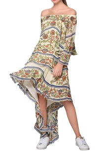 multicolored-georgette-garden-print-high-low-dress