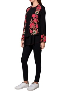 black-moss-crepe-floral-embroidered-front-open-jacket