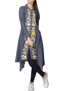 blue-chambray-shirt-style-asymmetric-tunic