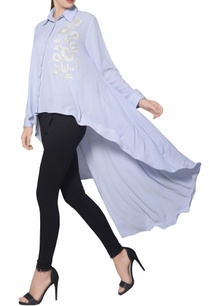 icy-blue-moss-crepe-high-low-embroidered-shirt