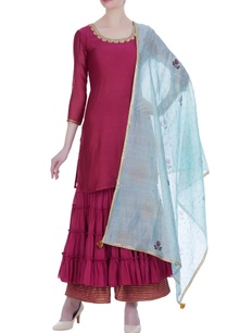 embroidered-kurta-set-with-block-printed-dupatta