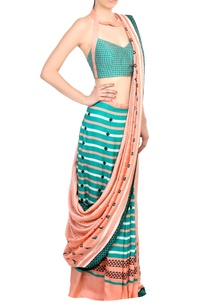 blue-pink-printed-tussar-silk-saree