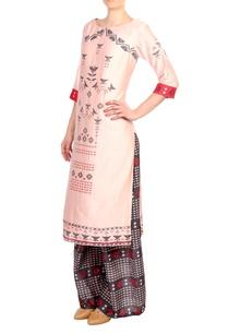 pink-printed-chanderi-kurta-with-palazzos
