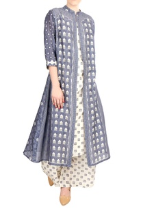 blue-chanderi-persian-printed-front-open-jacket-set