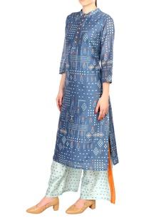 blue-chanderi-printed-kurta-with-palazzos