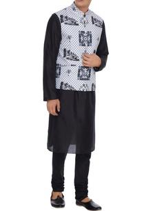 white-pure-cotton-banaris-printed-bundhi-jacket