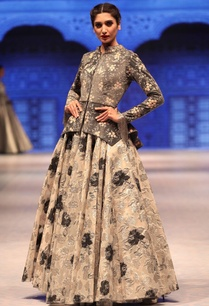grey-silver-suede-jacket-with-cutdana-embroidered-lehenga