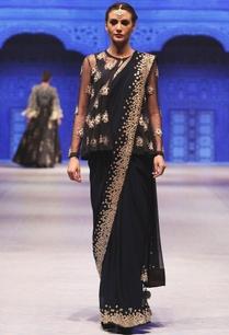 navy-blue-zardozi-resham-embroidered-saree-set