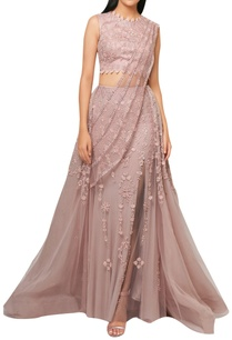 pink-net-organza-embroided-lehenga-with-attached-draped-dupatta