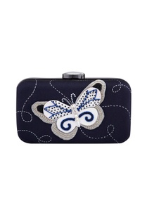 blue-butterfly-patch-rectangle-clutch
