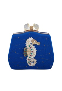blue-seahorse-hand-embroidered-patch-clutch