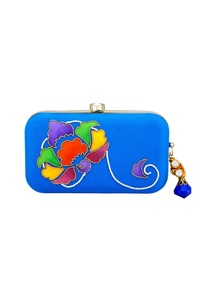 blue-raw-silk-hand-embroidered-pearl-brocade-clutch