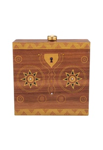 brown-gold-hand-painted-treasure-chest-wood-box-clutch