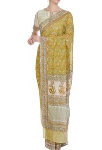 jaipuri-printed-saree-with-gota-blouse
