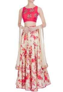 floral-printed-lehenga-with-embroidered-blouse-and-dupatta