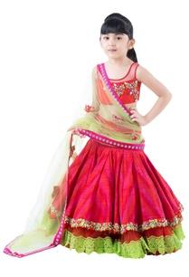 pink-raw-silk-lehanga-with-zardozi-embroidered-blouse-net-dupatta