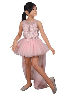 peach-net-ballerina-dress-with-zardozi-embroidered-lace